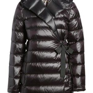 Donna Karan Water Resistant Packable Down Parka